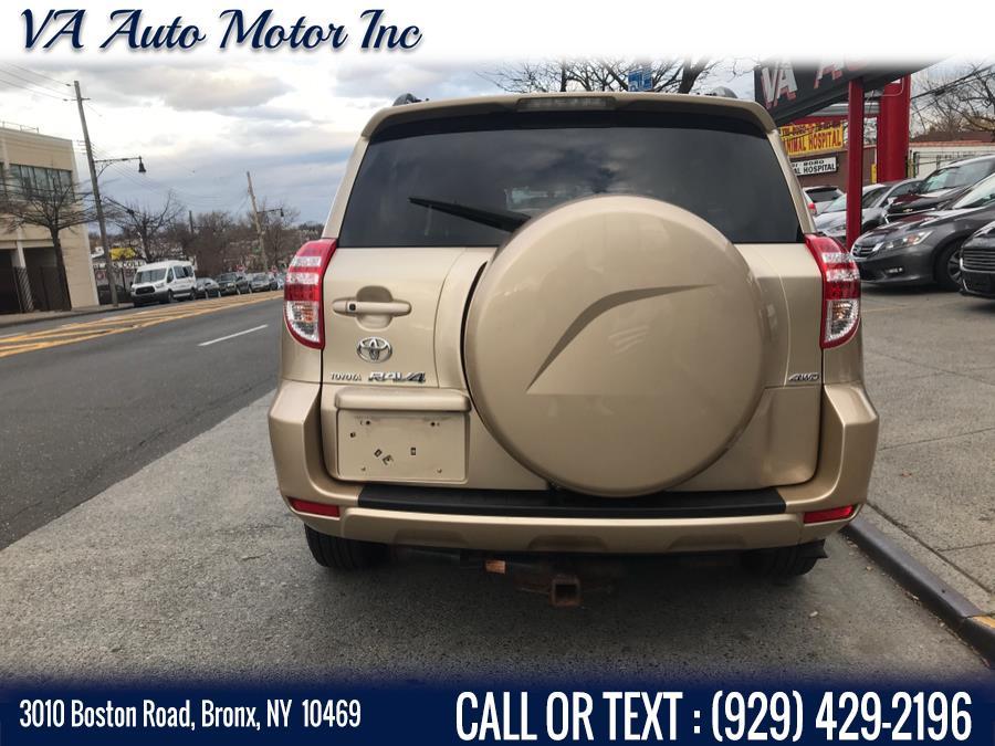 Used Toyota RAV4 4WD 4dr V6 5-Spd AT Ltd 2009 | VA Auto Motor Inc. Bronx, New York