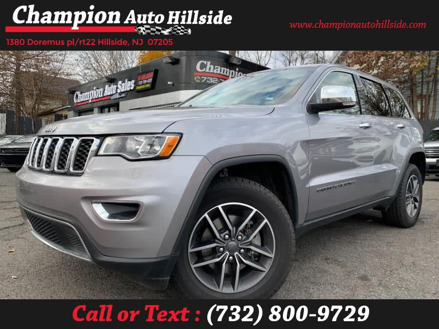 Used 2019 Jeep Grand Cherokee in Hillside, New Jersey | Champion Auto Hillside. Hillside, New Jersey