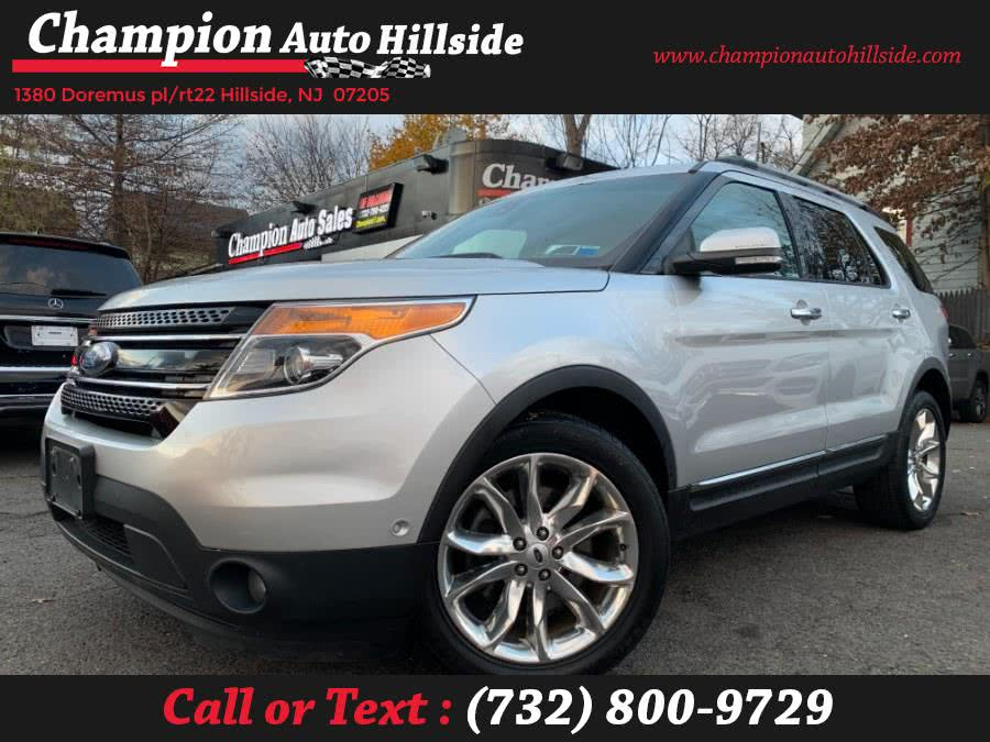 Used 2015 Ford Explorer in Hillside, New Jersey | Champion Auto Hillside. Hillside, New Jersey