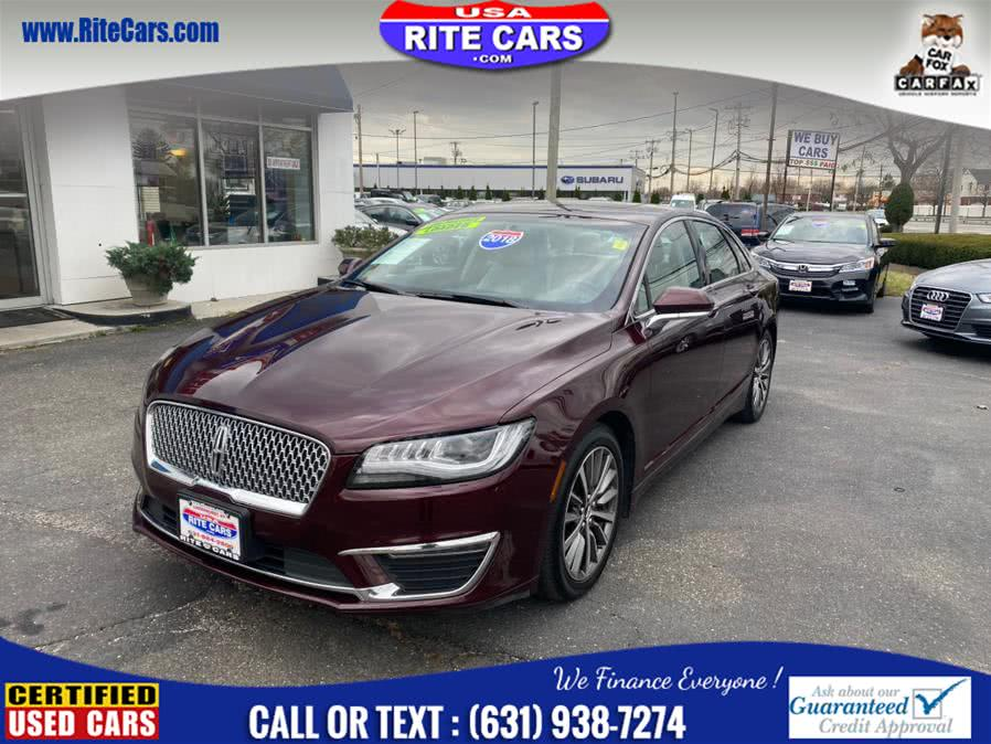 Used Lincoln MKZ Select AWD 2018 | Rite Cars, Inc. Lindenhurst, New York