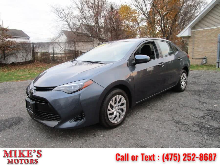 Used Toyota Corolla LE CVT (Natl) 2018 | Mike's Motors LLC. Stratford, Connecticut