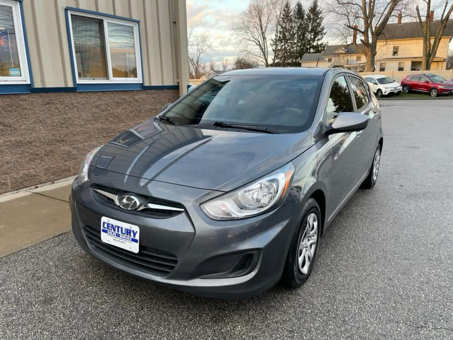 Used Hyundai Accent 5dr HB Auto GS 2014 | Century Auto And Truck. East Windsor, Connecticut