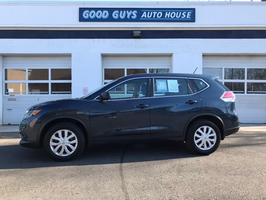 Used Nissan Rogue AWD 4dr S 2016 | Good Guys Auto House. Southington, Connecticut