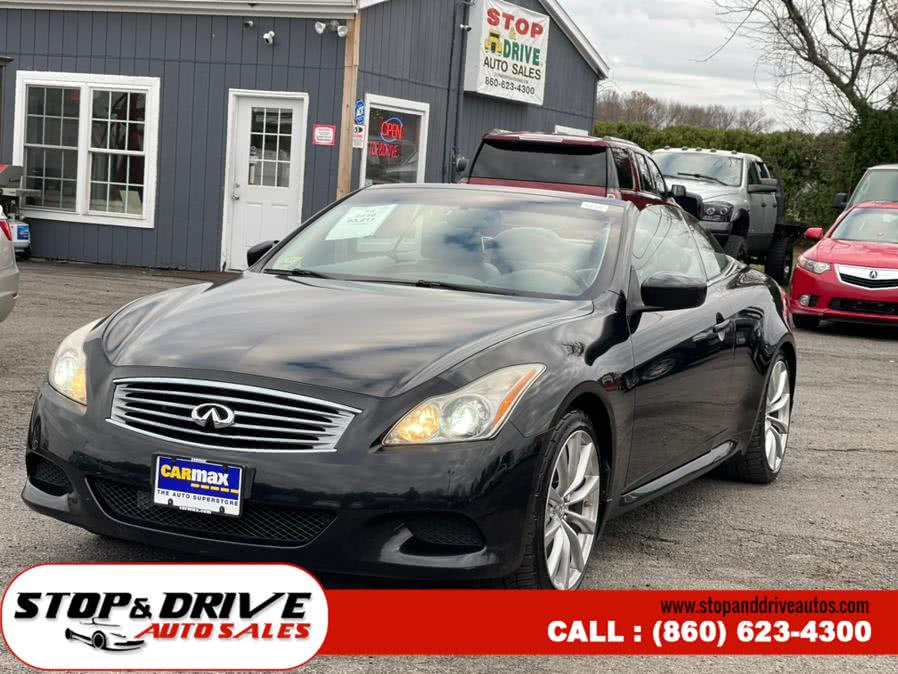 Used 2010 Infiniti G37 Convertible in East Windsor, Connecticut | Stop & Drive Auto Sales. East Windsor, Connecticut