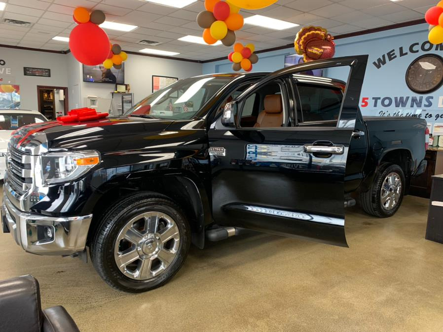 Used Toyota Tundra 4WD 1794 EDITION 1794 Edition CrewMax 5.5'' Bed 5.7L (Natl) 2018   5 Towns Drive. Inwood, New York