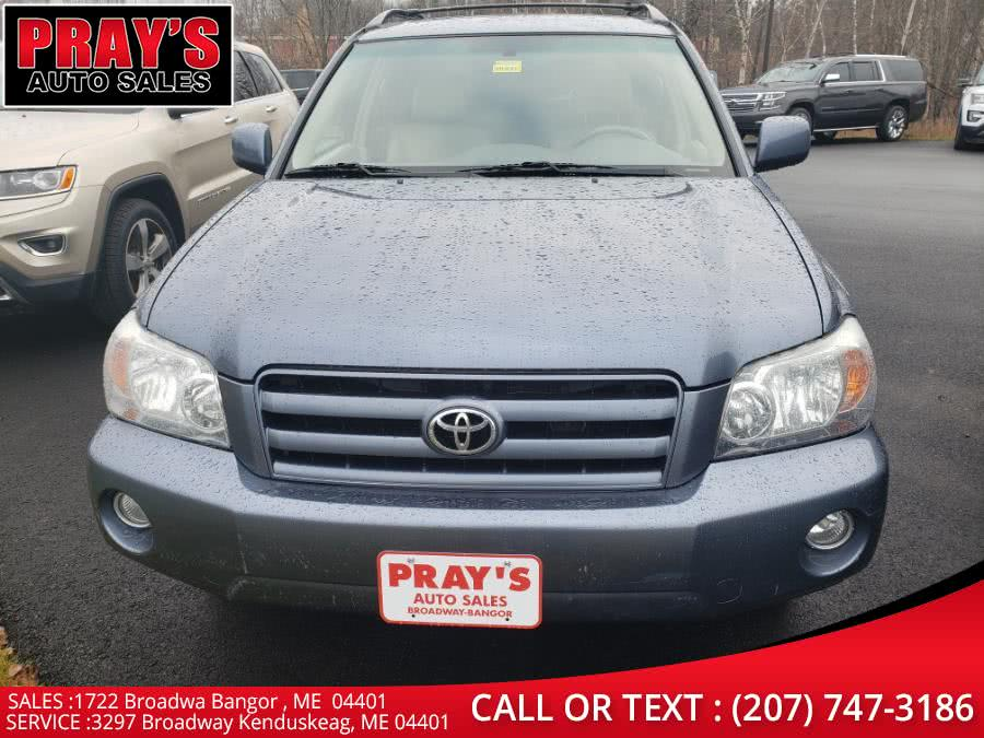 Used 2004 Toyota Highlander in Bangor , Maine | Pray's Auto Sales . Bangor , Maine