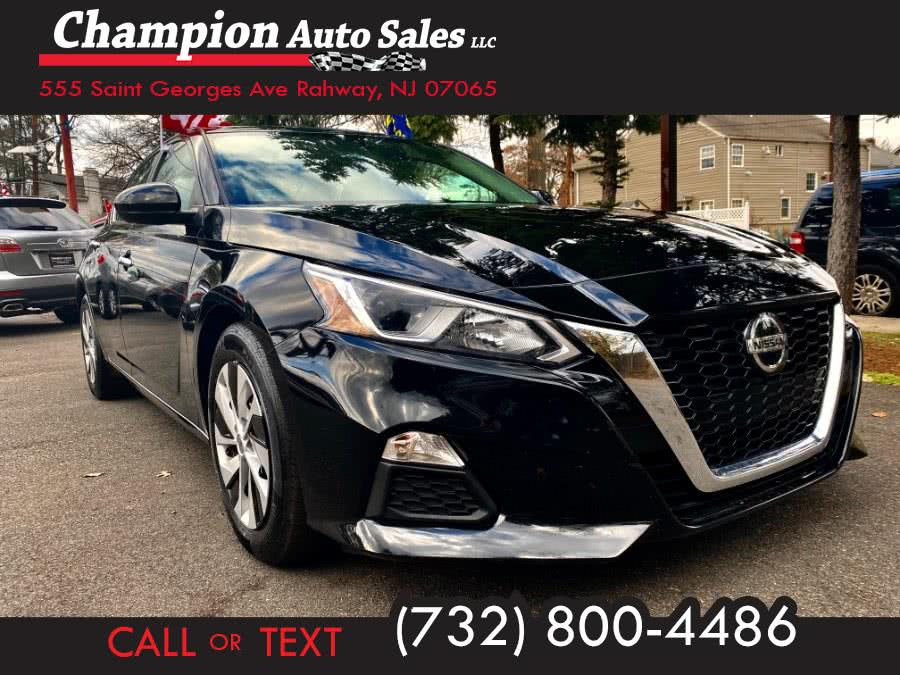 Used 2019 Nissan Altima in Rahway, New Jersey | Champion Auto Sales. Rahway, New Jersey