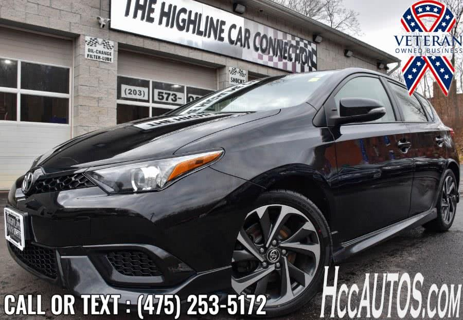 Used 2017 Toyota Corolla iM in Waterbury, Connecticut | Highline Car Connection. Waterbury, Connecticut