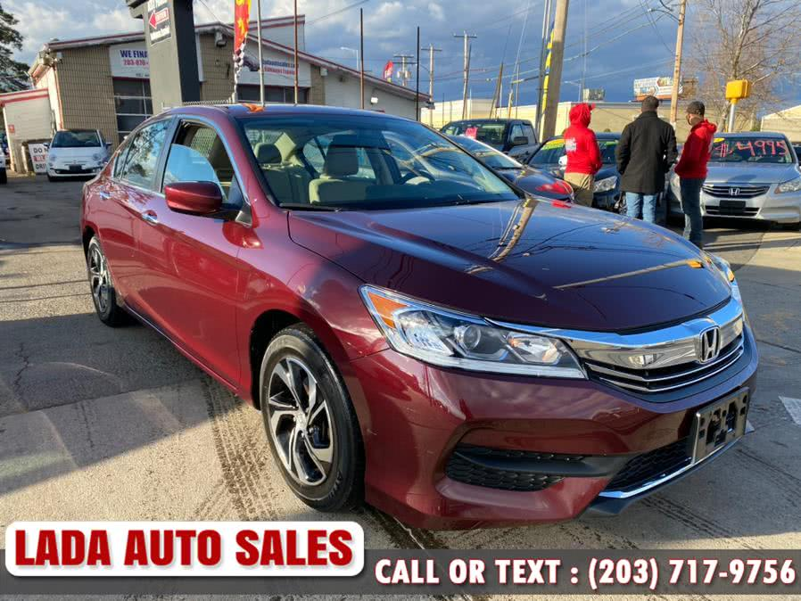 Used 2017 Honda Accord Sedan in Bridgeport, Connecticut | Lada Auto Sales. Bridgeport, Connecticut