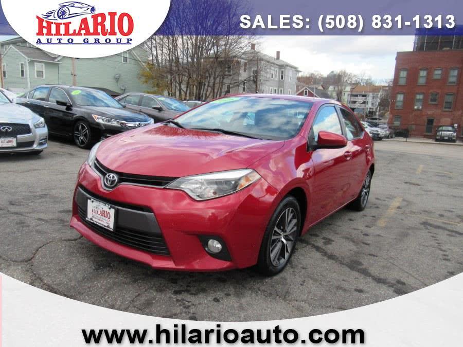 Used 2016 Toyota Corolla in Worcester, Massachusetts | Hilario's Auto Sales Inc.. Worcester, Massachusetts