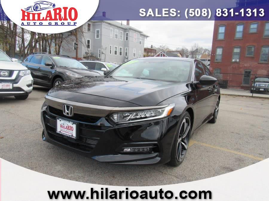 Used 2019 Honda Accord Sedan in Worcester, Massachusetts | Hilario's Auto Sales Inc.. Worcester, Massachusetts
