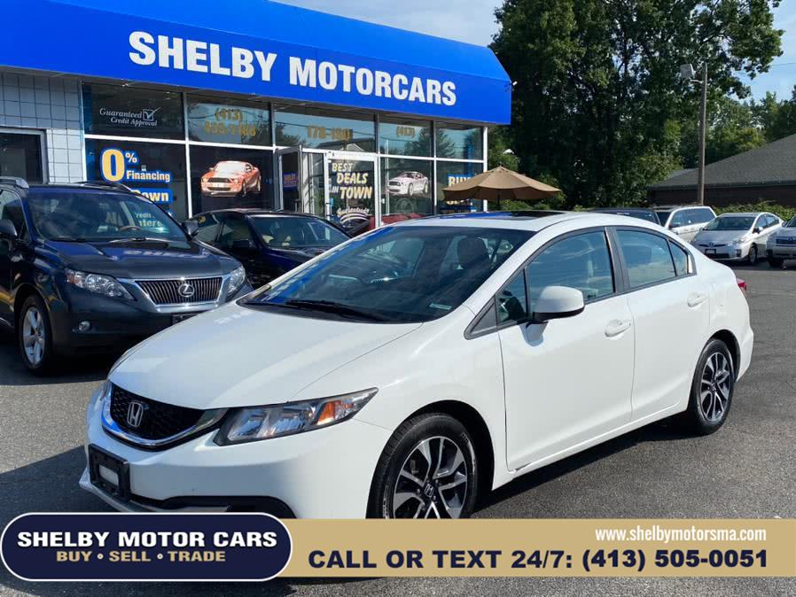Used Honda Civic Sdn 4dr Auto EX 2013 | Shelby Motor Cars . Springfield, Massachusetts