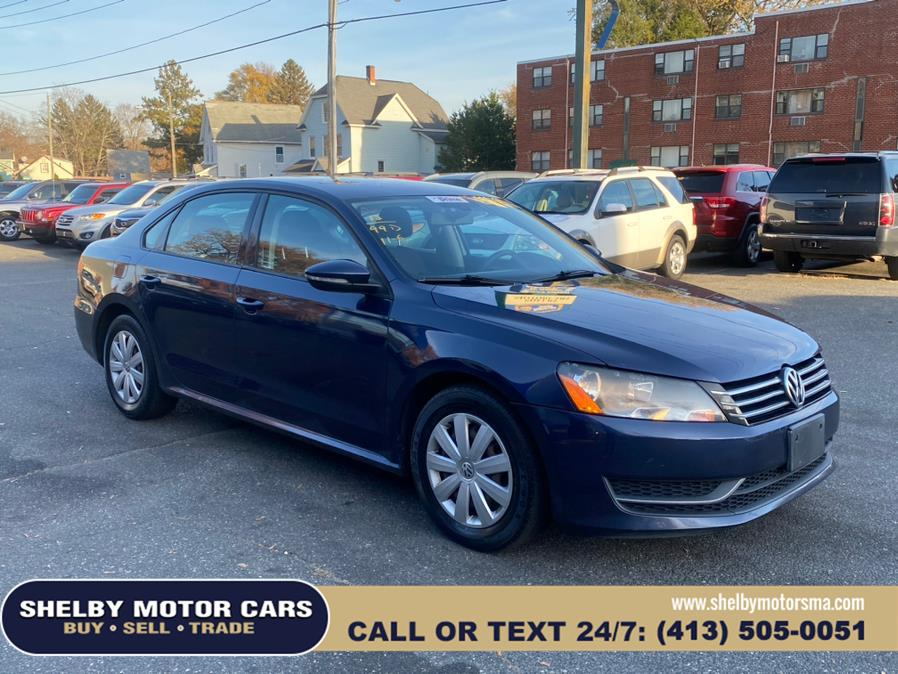 Used Volkswagen Passat 4dr Sdn 2.5L Auto S w/Appearance PZEV 2012   Shelby Motor Cars . Springfield, Massachusetts