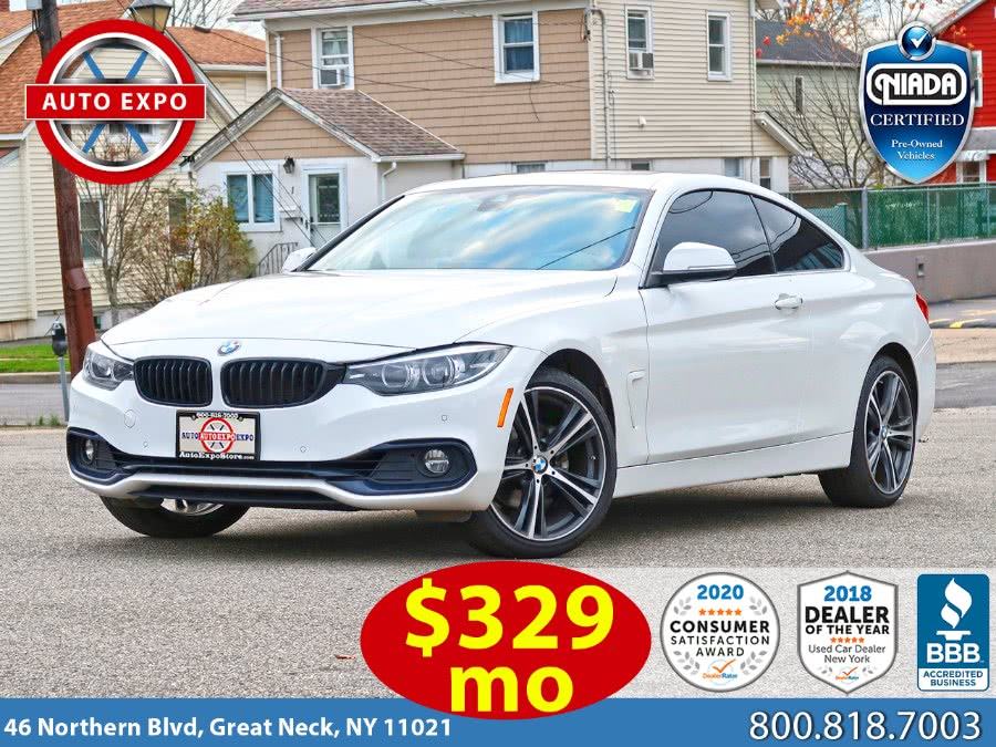 Used BMW 4 Series 430i xDrive Sport Line Package 2018 | Auto Expo Ent Inc.. Great Neck, New York