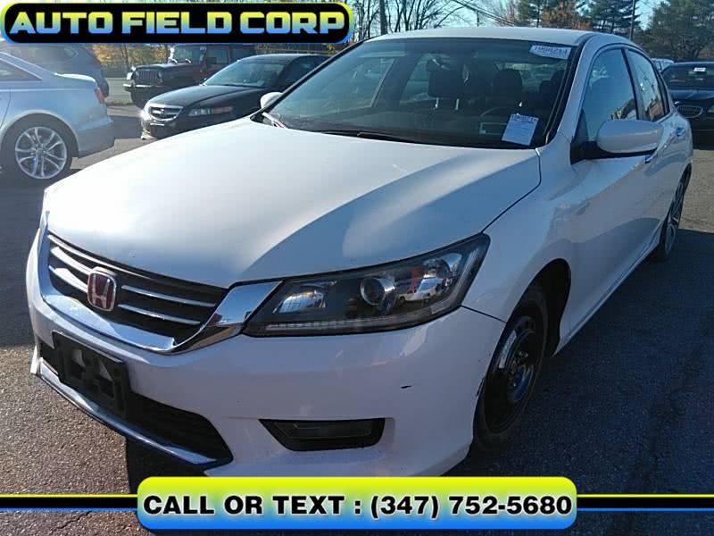 Used Honda Accord Sedan 4dr I4 CVT Sport 2015 | Auto Field Corp. Jamaica, New York