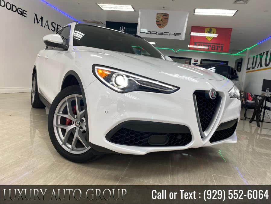 Used 2018 Alfa Romeo Stelvio in Bronx, New York | Luxury Auto Group. Bronx, New York