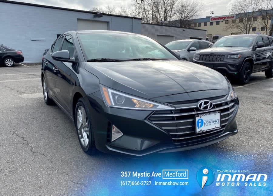 Used Hyundai Elantra SEL IVT 2020 | Inman Motors Sales. Medford, Massachusetts