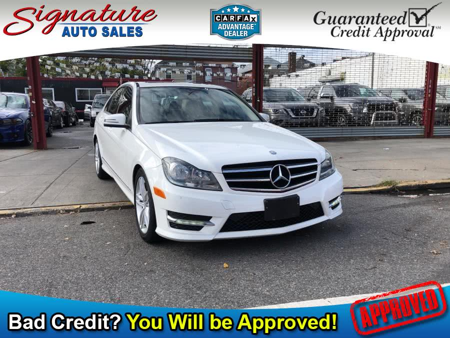 Used 2014 Mercedes-Benz C-Class in Franklin Square, New York | Signature Auto Sales. Franklin Square, New York