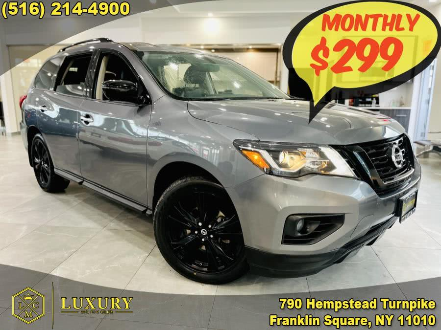 Used 2018 Nissan Pathfinder in Franklin Square, New York | Luxury Motor Club. Franklin Square, New York