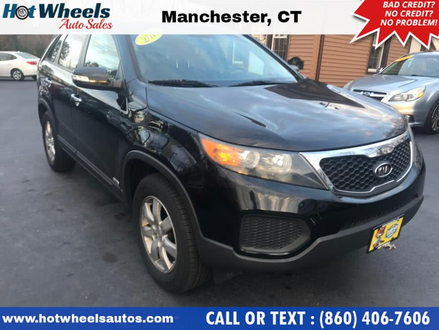 Used Kia Sorento AWD 4dr I4-GDI LX 2012 | Hot Wheels Auto Sales LLC. Manchester, Connecticut