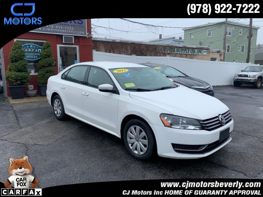 Used 2013 Volkswagen Passat in Beverly, Massachusetts | CJ Motors Inc. Beverly, Massachusetts