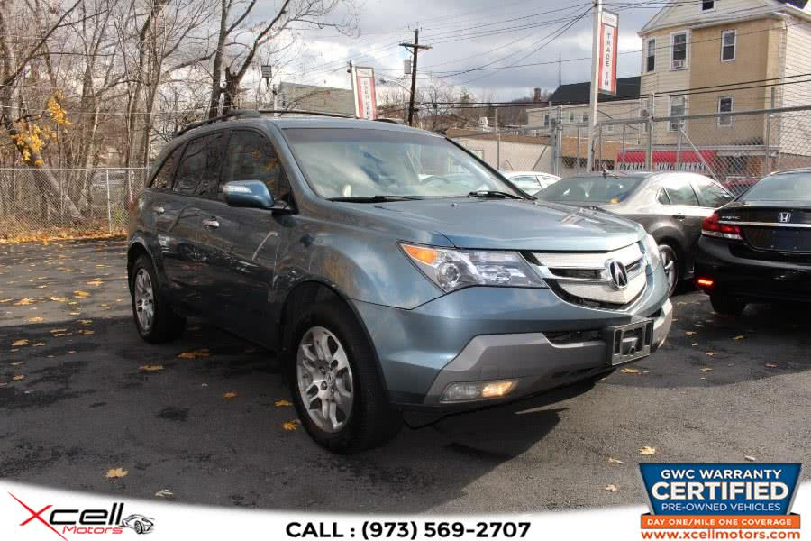Used 2008 Acura MDX Tech Pkge in Paterson, New Jersey | Xcell Motors LLC. Paterson, New Jersey