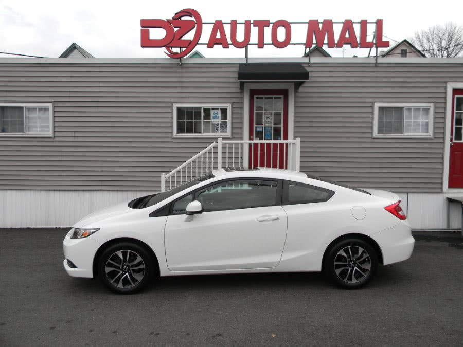 Used Honda Civic Cpe 2dr Auto EX 2013 | DZ Automall. Paterson, New Jersey
