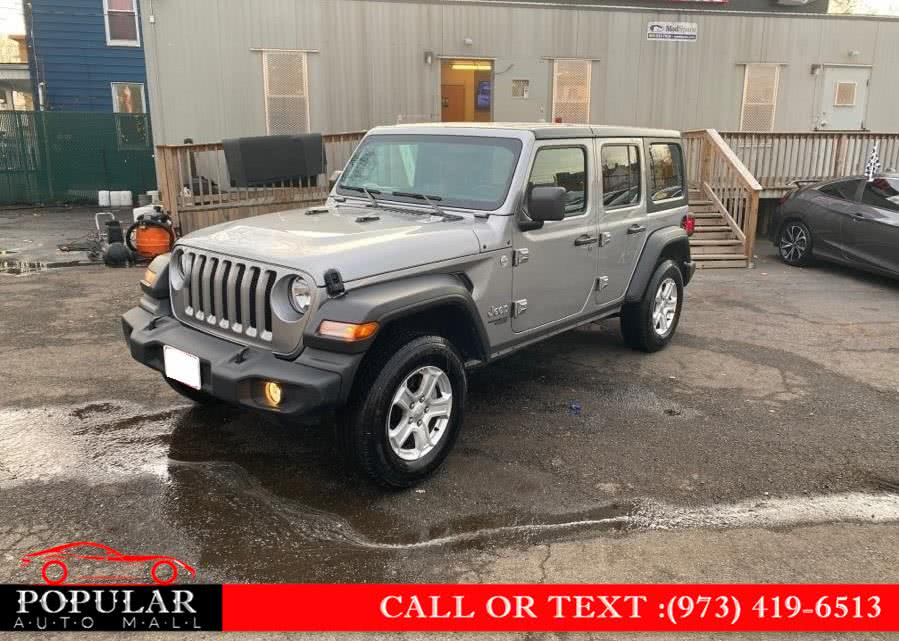 Used 2020 Jeep Wrangler Unlimited in Newark , New Jersey | Popular Auto Mall Inc . Newark , New Jersey