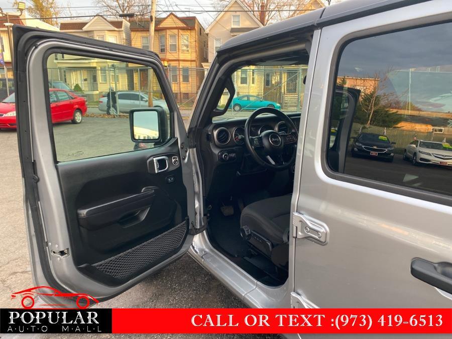 Used Jeep Wrangler Unlimited Sport S 4x4 2020   Popular Auto Mall Inc . Newark , New Jersey