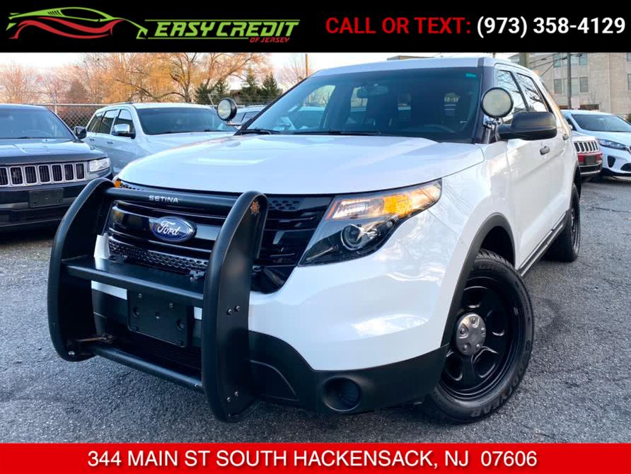 Used 2015 Ford Explorer Police Interceptor in South Hackensack, New Jersey | Easy Credit of Jersey. South Hackensack, New Jersey