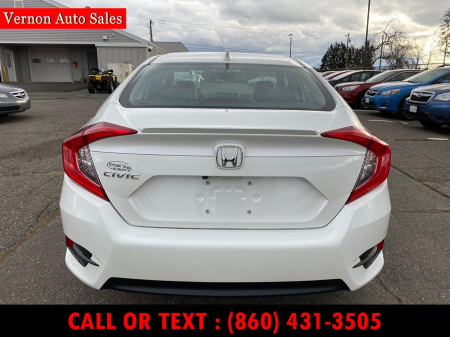 Used Honda Civic Sedan EX-L CVT 2017 | Vernon Auto Sale & Service. Manchester, Connecticut