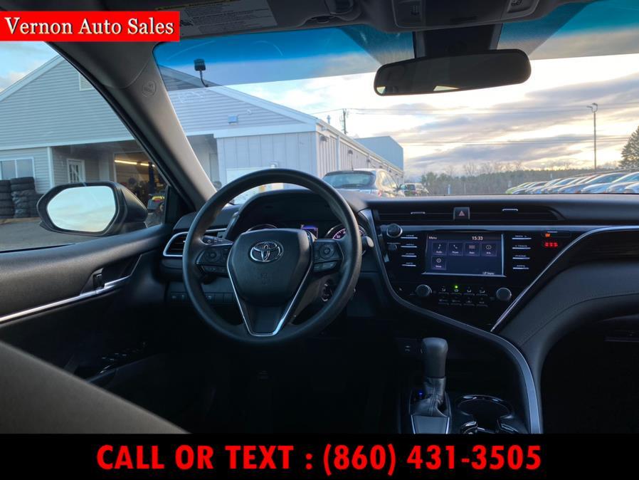 Used Toyota Camry LE Auto (Natl) 2018 | Vernon Auto Sale & Service. Manchester, Connecticut