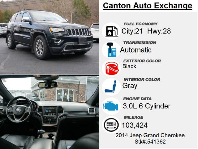 Used Jeep Grand Cherokee Limited 2014 | Canton Auto Exchange. Canton, Connecticut