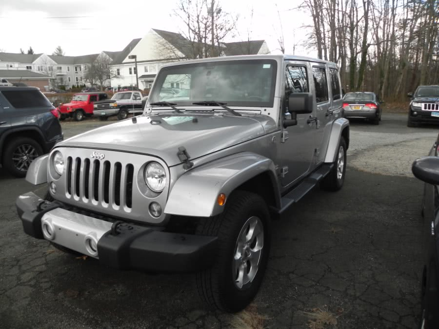 Used Jeep Wrangler Unlimited 4WD 4dr Sahara 2014 | Marty Motors Inc. Ridgefield, Connecticut