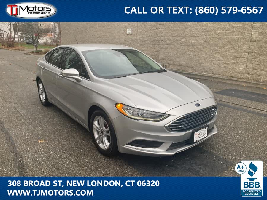 Used 2018 Ford Fusion in New London, Connecticut | TJ Motors. New London, Connecticut