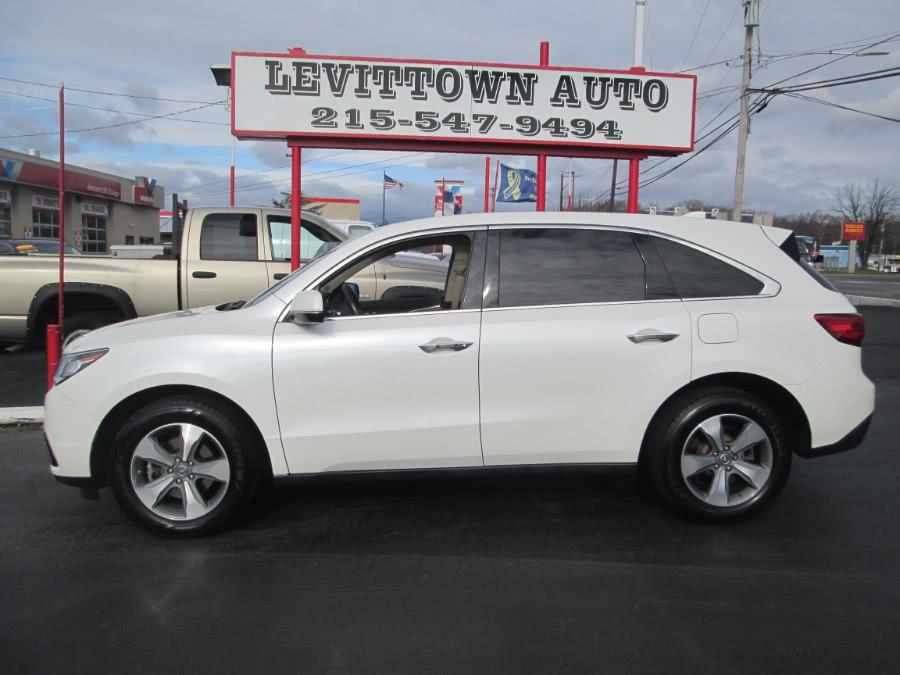 Used 2016 Acura MDX in Levittown, Pennsylvania | Levittown Auto. Levittown, Pennsylvania