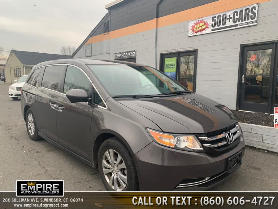 Used 2016 Honda Odyssey in S.Windsor, Connecticut | Empire Auto Wholesalers. S.Windsor, Connecticut