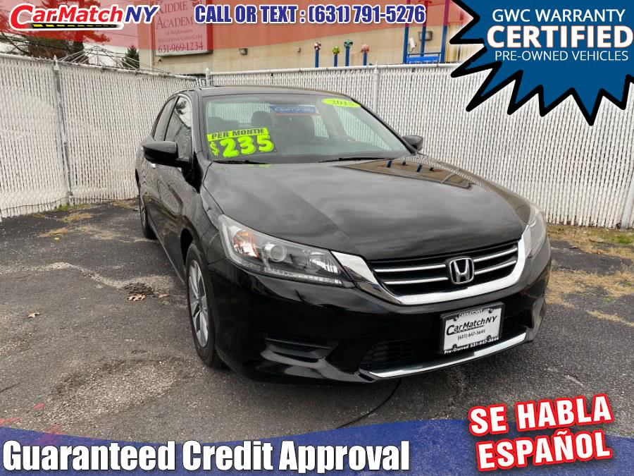 Used 2015 Honda Accord Sedan in Bayshore, New York | Carmatch NY. Bayshore, New York
