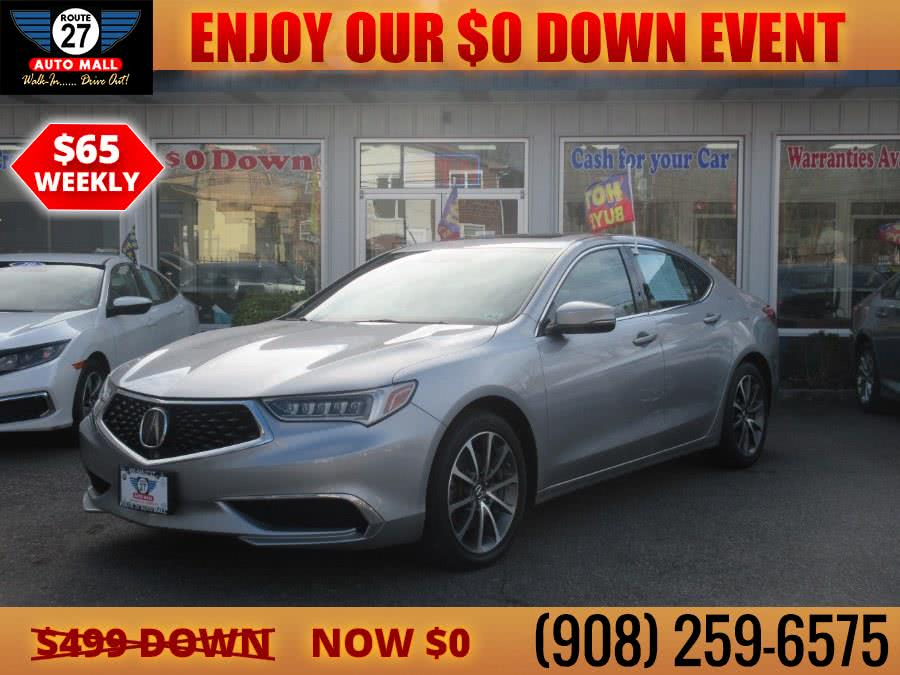 Used 2018 Acura TLX in Linden, New Jersey   Route 27 Auto Mall. Linden, New Jersey