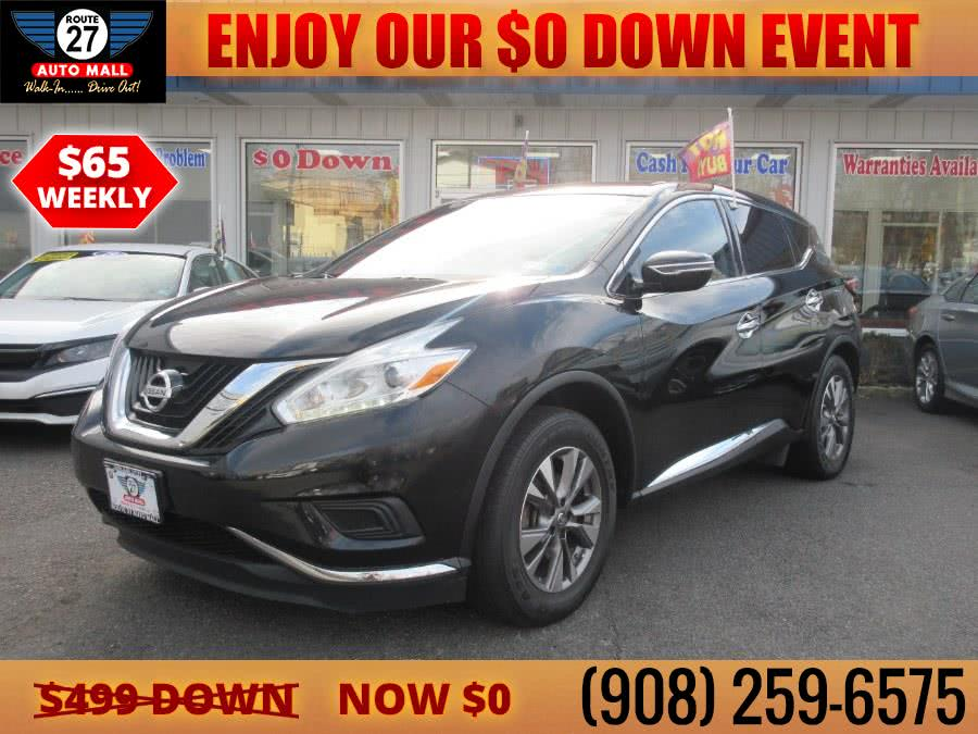 Used 2016 Nissan Murano in Linden, New Jersey | Route 27 Auto Mall. Linden, New Jersey