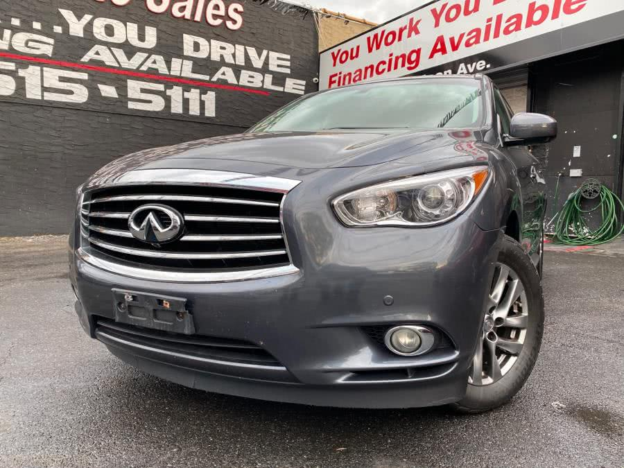 Used 2013 Infiniti JX35 in Bronx, New York | Champion Auto Sales Of The Bronx. Bronx, New York
