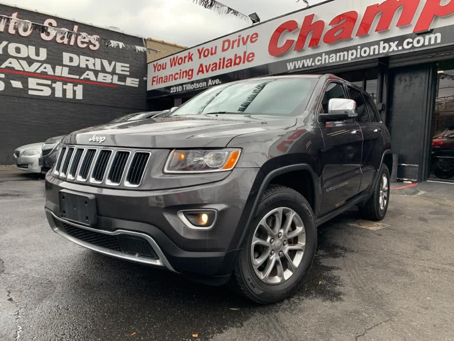 Used 2015 Jeep Grand Cherokee in Bronx, New York | Champion Auto Sales Of The Bronx. Bronx, New York