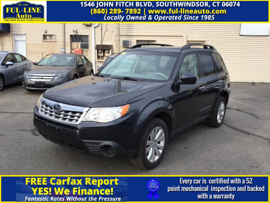 Used 2012 Subaru Forester in South Windsor , Connecticut | Ful-line Auto LLC. South Windsor , Connecticut