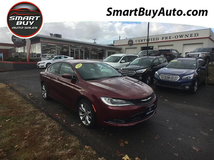 Used Chrysler 200 S 2016   Smart Buy Auto Sales, LLC. Wallingford, Connecticut