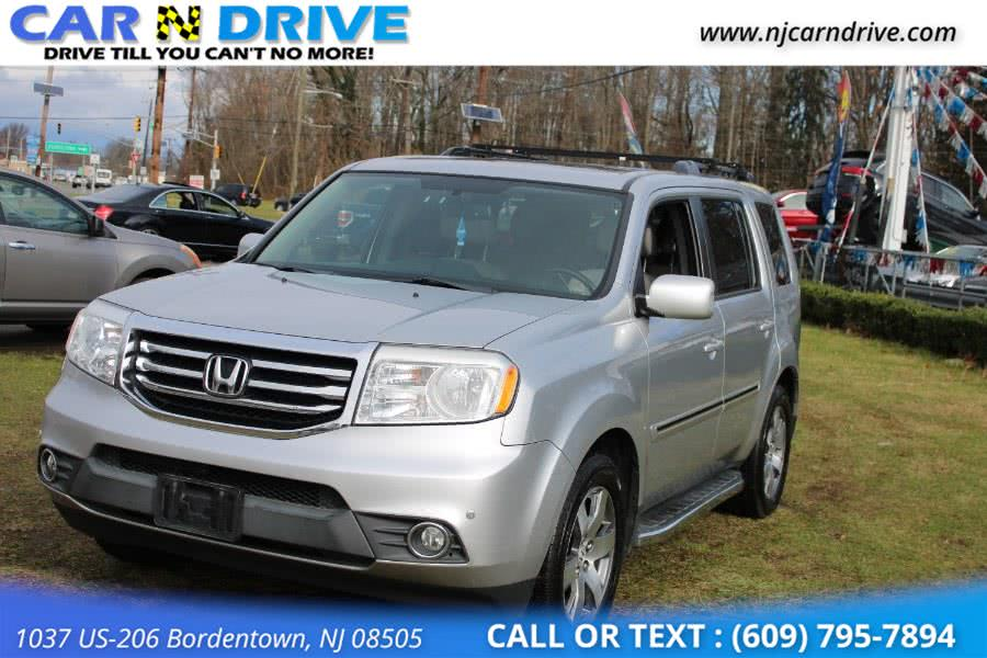 Used Honda Pilot Touring 4WD 5-Spd AT with DVD 2013 | Car N Drive. Bordentown, New Jersey