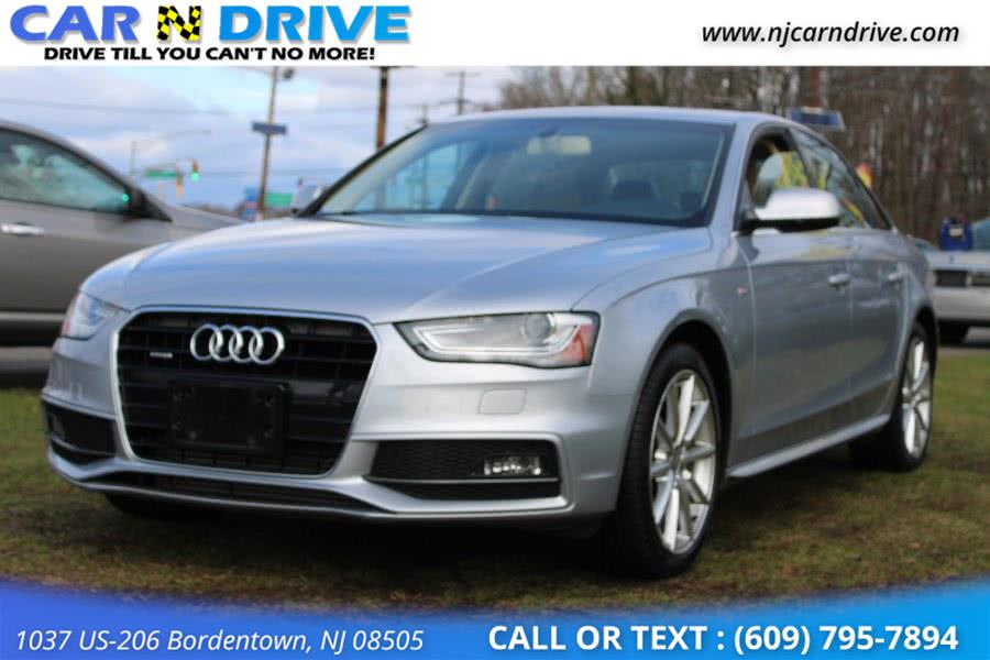 Used 2015 Audi A4 in Bordentown, New Jersey | Car N Drive. Bordentown, New Jersey
