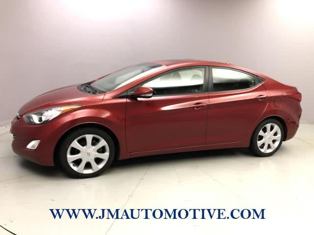 Used 2012 Hyundai Elantra in Naugatuck, Connecticut | J&M Automotive Sls&Svc LLC. Naugatuck, Connecticut