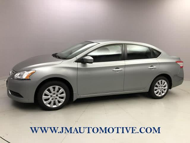 Used Nissan Sentra 4dr Sdn I4 CVT SV 2014 | J&M Automotive Sls&Svc LLC. Naugatuck, Connecticut