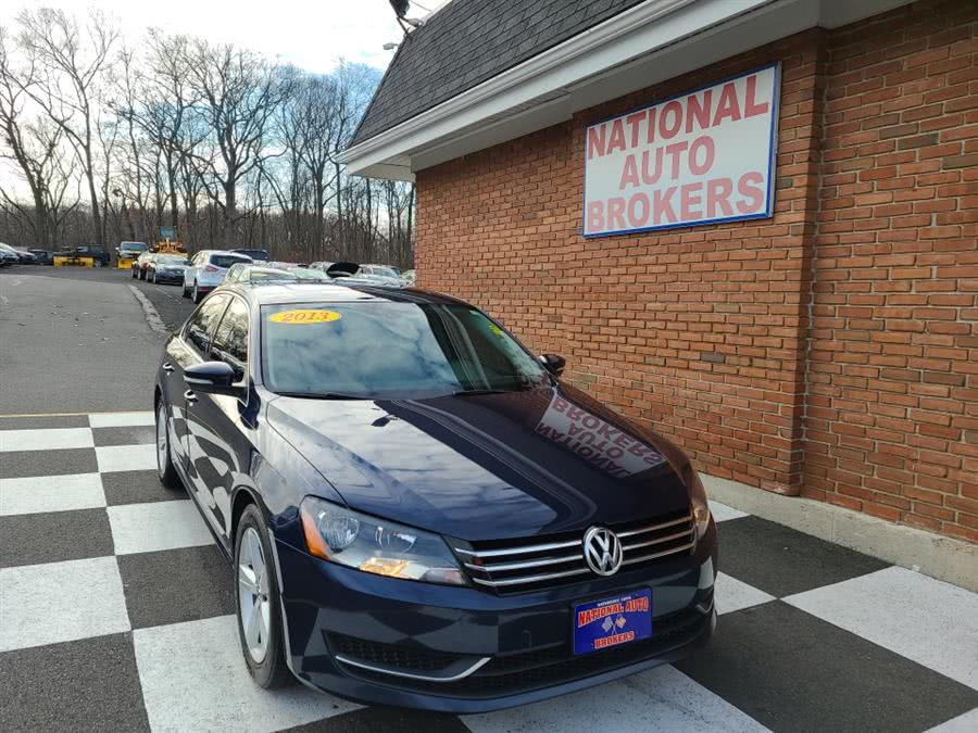 Used 2013 Volkswagen Passat in Waterbury, Connecticut | National Auto Brokers, Inc.. Waterbury, Connecticut