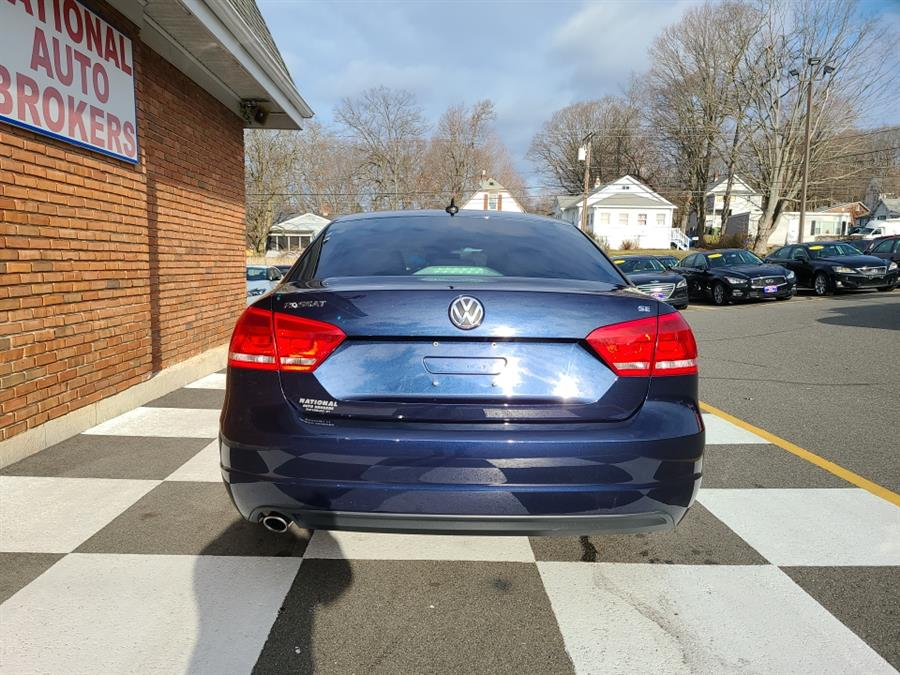 Used Volkswagen Passat 4dr Sdn 2.5L Auto SE w/Sunroof & Nav PZEV 2013 | National Auto Brokers, Inc.. Waterbury, Connecticut